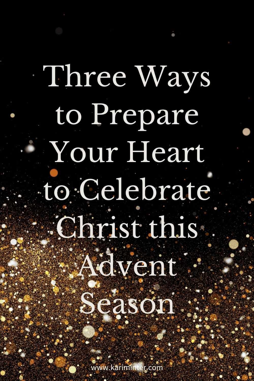 3 ways to celebrate Advent