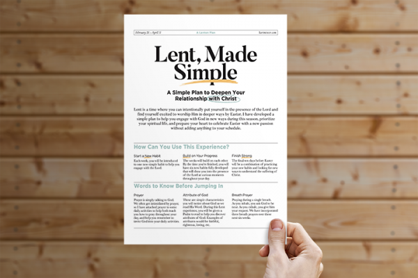 Lent Made Simple