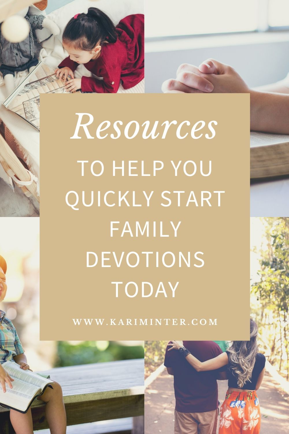 Resources to help you start family devotions