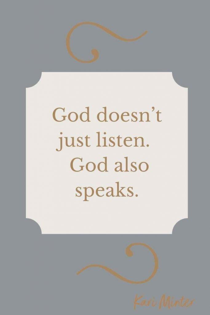 God-speaks